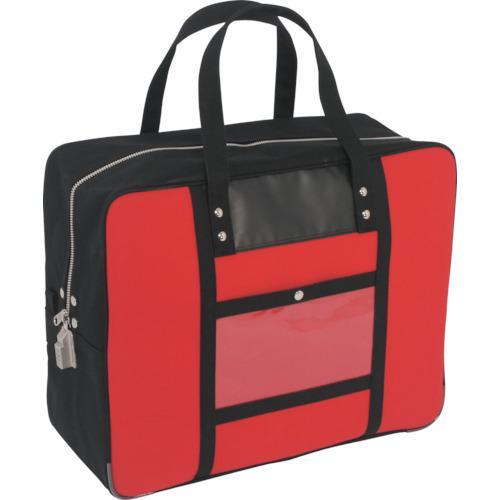三栄産業 ツールバッグ ■SANEI 帆布メール用ボストン SED-1錠付 赤〔品番:BTLLSED02〕 1141863:0 ランキングTOP5 チープ LL