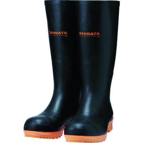 ■SHIBATA 安全耐油長靴(ヨーロッパモデル) IE020-24.0 シバタ工業(株)【1142699:0】