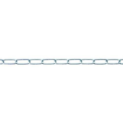 ■ニッサチェイン SUS316 リンクチェイン(未溶接) 30M  SL20SHG 【1142736:0】