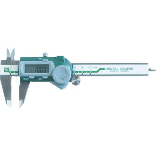 ■SK デジタルノギス 測定範囲mm100 最小表示0.01mm GDCS-100 新潟精機【1144596:0】