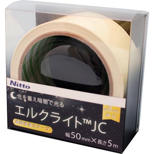 ■日東エルマテ 高輝度蓄光テープ JC 50mmX5M NB-5005C 【1145981:0】