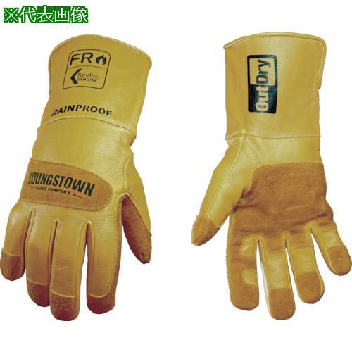 ■YOUNGST 革手袋 FRレイングローブ アウトドライ L  12-3495-60-L 【1146966:0】
