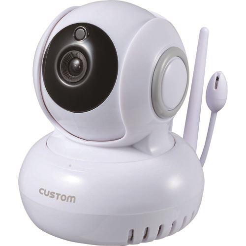 ■カスタム 温湿度センサー付IPカメラ IPC-02TH (株)カスタム【1151640:0】