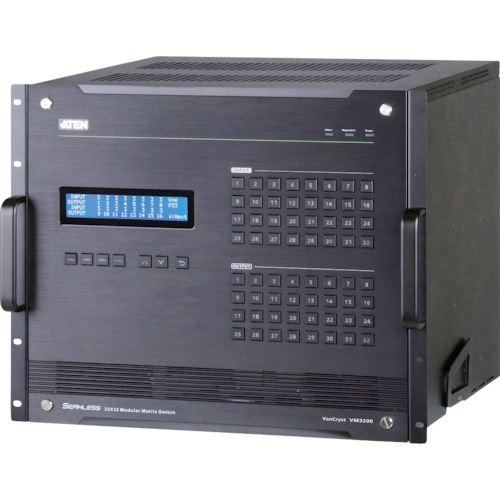 ?ATEN モジュール式ビデオ切替器 32入力 / 32出力〔品番:VM3200〕外直送元【1152222:0】【個人宅配送不可】