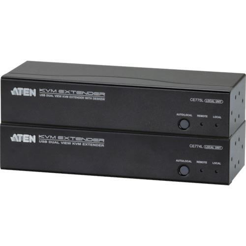【国内発送】 ?ATEN KVMエクステンダー VGA/USB/デュアルディスプレイ対応〔品番:CE774〕【1152410:0】[法人・事業所限定][外直送元], オーシャンズ:83cd1833 --- kalpanafoundation.in