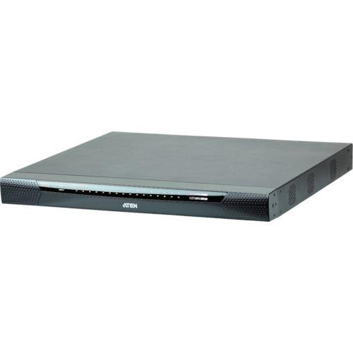 ?ATEN IP-KVMスイッチ 1ローカル/8リモート アクセス/32ポート/カテゴリ5E(バーチャルメディア対応、1920×1200) 〔品番:KN8132V〕外直送元【1152770:0】