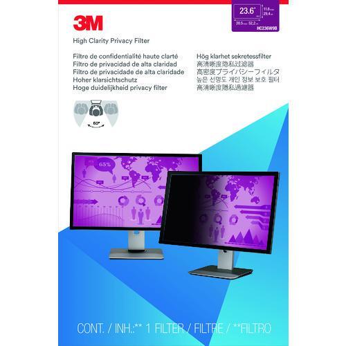 ■3M セキュリティ/プライバシーフィルター ハイクラリティータイプ HC236W9B  HC236W9B 【1164711:0】