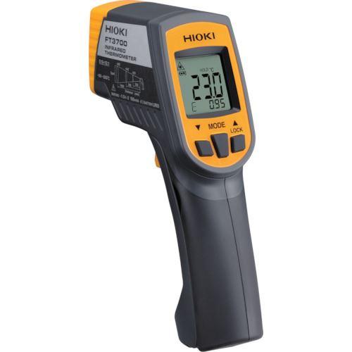 ■HIOKI 放射温度計  FT3700 校正証明書付  〔品番:FT3700KOUSEISYOTUKI〕【1172260:0】