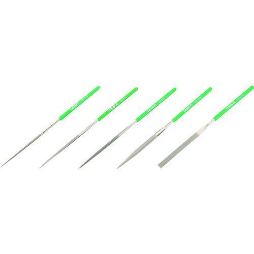 ■TRUSCO ダイヤモンドヤスリ 精密用 5本組 セット  GS-5-SET 【1176307:0】