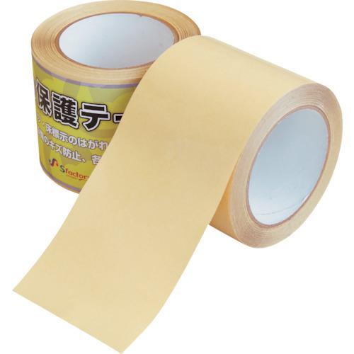 ■エスファクトリー 強力保護テープ 0.12X90X20M 10巻入 〔品番:SFC301〕外直送元【1206800×10:0】