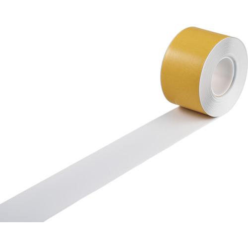 ■緑十字 高耐久ラインテープ 白 100MM幅×10M 両端テーパー構造 屋内用  〔品番:403081〕【1221218:0】[送料別途見積り][法人・事業所限定][掲外取寄]