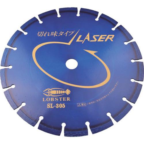 ■エビ ダイヤモンドホイール レーザー(乾式) 304MM 穴径25.4MM  SL30525.4 【1239431:0】