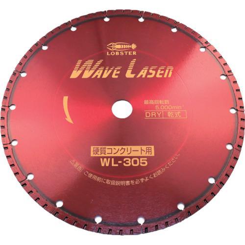 ■エビ ダイヤモンドホイール ウェブレーザー(乾式) 304MM穴径25.4MM  WL305254 【1245091:0】
