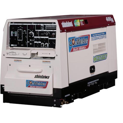 ?新ダイワ マルチマイティ炭酸ガス溶接機(本機と送給装置のセット) 〔品番:SAW400MP-GS〕外直送元【1250741:0】
