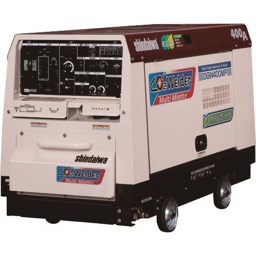 ?新ダイワ マルチマイティ炭酸ガス溶接機(本機と送給装置のセット) 〔品番:SAW400MP-GSW〕外直送元【1250743:0】