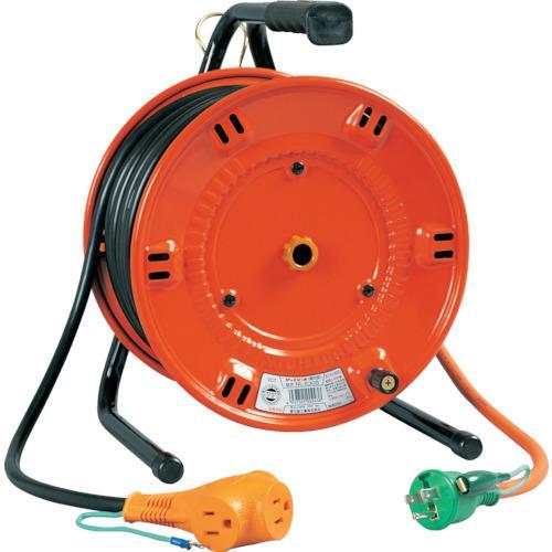 ■日動 電工ドラム びっくリール 100V アース付 30M  NL-E30S 【1255517:0】