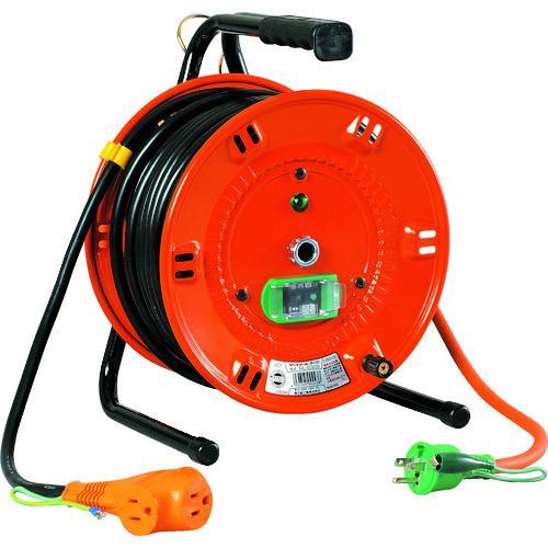 ■日動 電工ドラム びっくリール 100V アース漏電しゃ断器付 30M  NL-EB30S 【1255584:0】