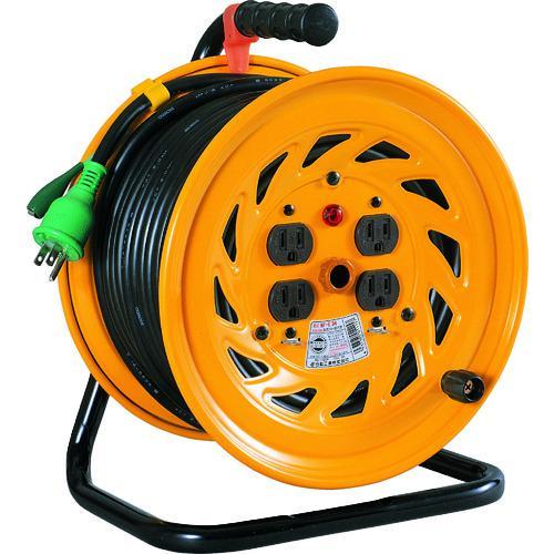 ■日動 電工ドラム 標準型100Vドラム アース付 50M  NF-E54 【1255649:0】
