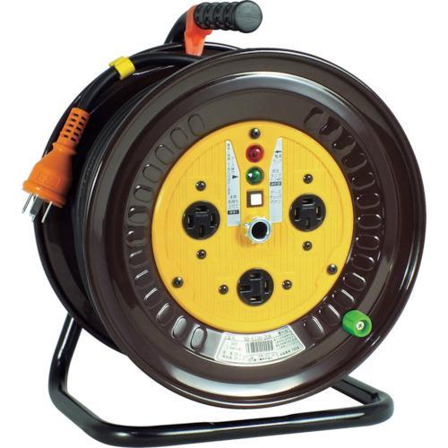 ■日動 電工ドラム 三相200Vドラム アース付 20M  ND-E320-20A 【1255819:0】