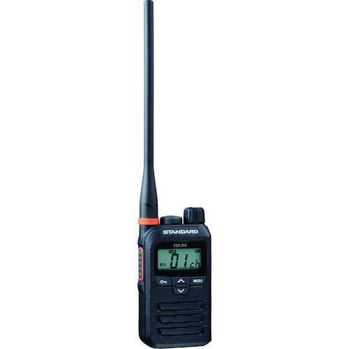 ■スタンダード 特定小電力トランシーバー ブラック FTH-314L 八重洲無線(株)【1256427:0】