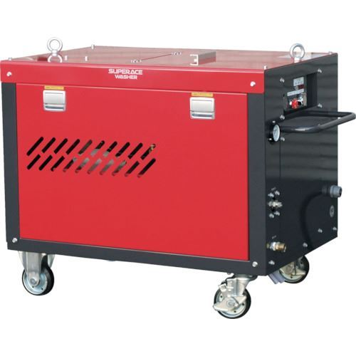 ■スーパー工業 モーター式高圧洗浄機SAL-1830-2-50HZ  〔品番:SAL1830-2-50HZ〕【1261631:0】「送料別途見積り」・「法人・事業所限定」・「掲外取寄」