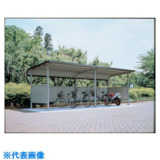 ?ダイケン 自転車置場サイクルロビー通常地120基準型スチール屋根 間口2850 〔品番:CY-CLS28-120〕外直送元【1272206:0】【大型・重量物・個人宅配送不可】
