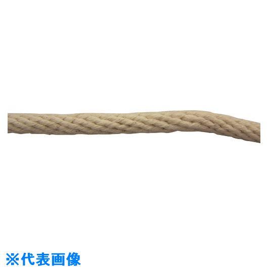 ■ユタカメイク 綿金剛打ロープ 6MM×300M  〔品番:CX6-300〕【1280083:0】
