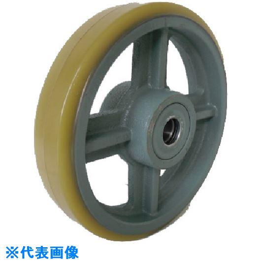 ?ヨドノ 鋳物中荷重用ウレタン車輪ベアリング入 360 〔品番:USB360〕掲外取寄【1323480:0】