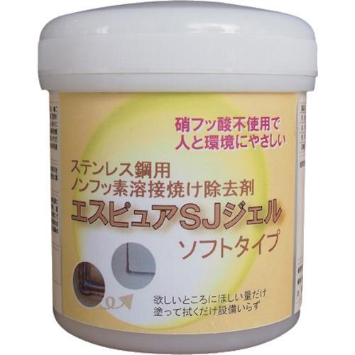 ■佐々木化学 ステンレス溶接焼け除去剤 エスピュアSJジェル(低粘度タイプ)300G  SJJEL(SOFT)300G 【1343511:0】
