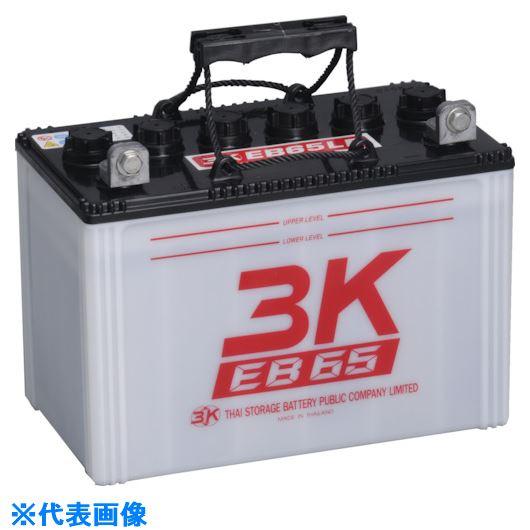 ■シロキ 3K EBサイクルバッテリー EB65 LR端子〔品番:7631014〕【1348934:0】【個人宅配送不可】