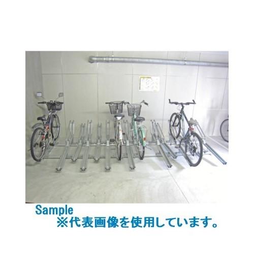 ?ダイケン 自転車ラック スライドラック 連結型 8台用 〔品番:SR-CR8N〕外直送【1353794:0】【大型・重量物・送料別途お見積り】