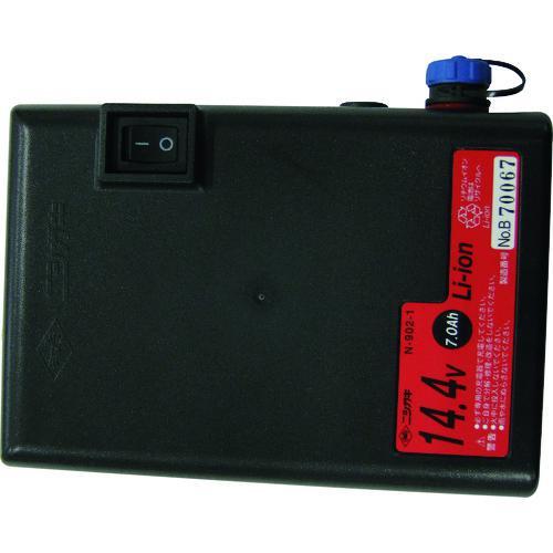 ■ニシガキ 兼用バッテリー14.4V,7A  N-902-1 【1372195:0】