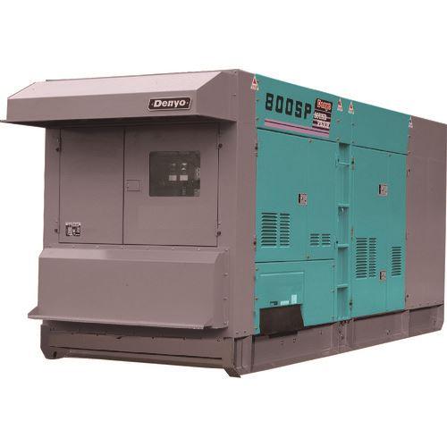 ?デンヨー 低騒音型ディーゼル発電機 〔品番:DCA-800SPK〕外直送元【1479066:0】【大型・重量物・個人宅配送不可】