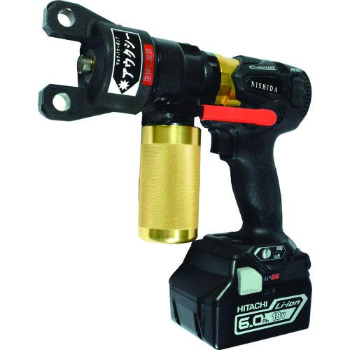 ■西田 マルチパワーツール 充電式油圧ポンプ  NC-E750-8J 【1493541:0】
