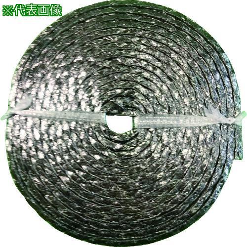 ■ダイコー グランドパッキン D4104 膨張黒鉛編組パッキン(インコネル合金線入り) 幅7.9MM  〔品番:D4104-7.9〕【1494708:0】