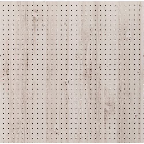■光 木調パンチングボード シダーホワイト 約910×600MM 5枚入 〔品番:PGMBD69-3〕【1517213×5:0】