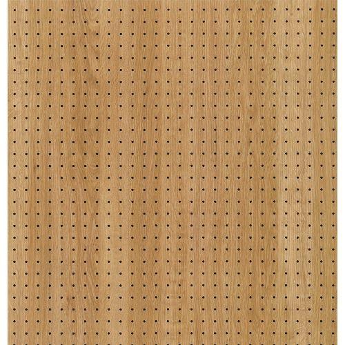 ■光 木調パンチングボードウッディ オーク 約910×600MM 5枚入 〔品番:PGMBD69-5〕【1517238×5:0】