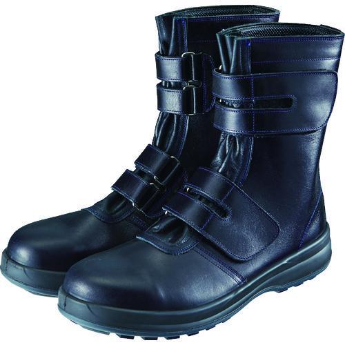 ■シモン 安全靴 マジック式 8538黒 25.5cm 8538N-25.5 (株)シモン【1525077:0】