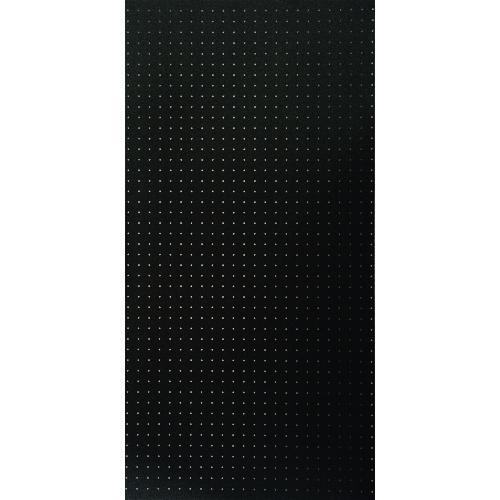 ■光 パンチングボード 黒 約1200×600 5枚入 〔品番:PGBDFN1260-1〕【1542178×5:0】