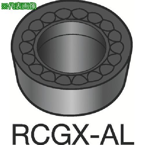 ■サンドビック コロターン107 旋削用ポジ・チップ H10(10個) RCGX 【1562240×10:0】