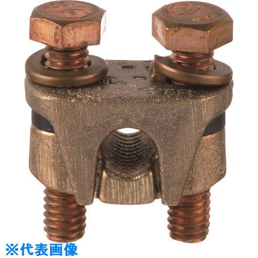 ?パンドウイット 2ボルト型コネクター AWG1/0(撚り線)- AWG4/0(撚り線) 主線 電線サイズ AWG10(撚り線)- AWG4/0(撚り線)分岐線 VT-2-Q 〔品番:VT-2-Q〕掲外取寄【1578828:0】