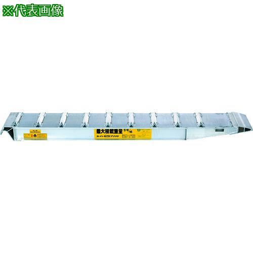 ■昭和 SXN型アルミブリッジ2個1組  〔品番:SXN-220-30-10B〕直送【1607483:0】【大型・重量物・送料別途お見積り】