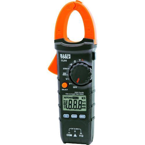 ■KLEIN デジタルクランプメーター 交流電流測定用  CL210A 【1611133:0】
