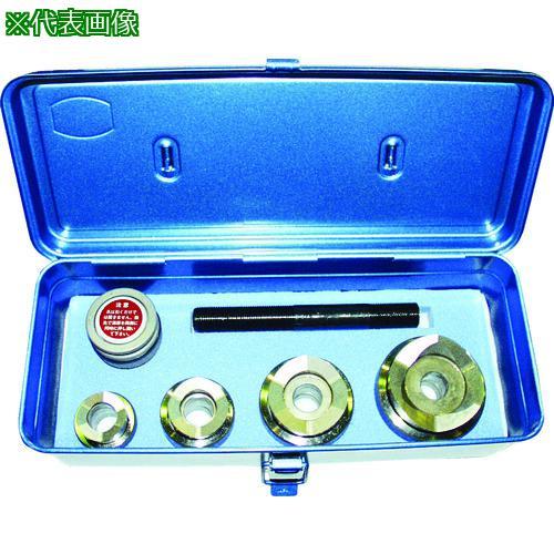 ■西田 電線管用チャッカー 厚鋼電線管刃物用セット  NC-CL-HACP-SET 【1613207:0】