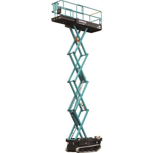 ?北越 垂直昇降型クローラ式高所作業車 6.8m 〔品番:ENCL068-3〕外直送【1621694:0】【大型・重量物・送料別途お見積り】