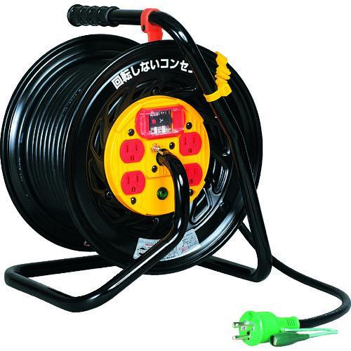 ■日動 電工ドラム マジックリール 100V アース過負荷漏電しゃ断器付 30M  Z-EK34 【1645137:0】