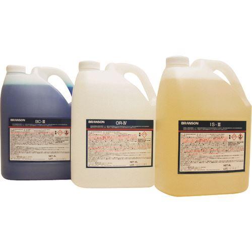 ?ヤマト 専用洗剤IS-3(アルカリ性)4L×4本 〔品番:001900111〕外直送【1790429:0】【送料別途お見積り】