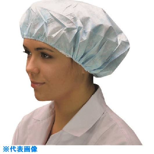 ■TGK 帯電帽 66050B ブルー 50枚×10袋×2〔品番:509-87-04-92〕【1834269:0】