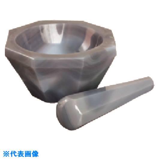 ■TGK メノー乳鉢 深型 CD-60 乳棒付  〔品番:985-54-36-11〕【1836796:0】
