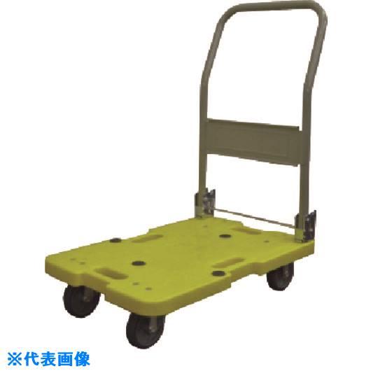 ■TGK 軽量型樹脂製台車 LSK-211Y〔品番:649-56-96-06〕【1839253:0】